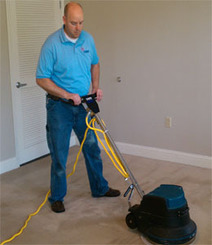 No Health Hazard - carpet cleaning